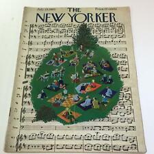The New Yorker July 23 1955 Full Magazine/Theme Cover Ilonka Karasz