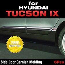 Chrome Side Door Skirt Accent Garnish Molding For HYUNDAI 2010-2015 Tucson ix