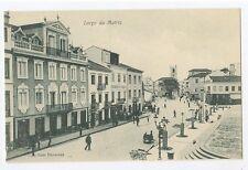 Portugal AZORES Acores Church Square Largo Matriz old 1910s postcard