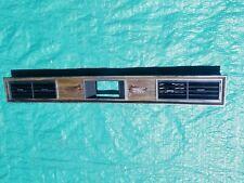 OEM 1972 Cadillac Eldorado Dash Clock Trim