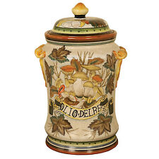 07A679 - Decorative Tuscan Inspired Jar with Lid