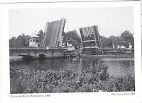 "*Maryland-""Pocomoke River Drawbridge"", 1965- *Pocomoke City {Postcard}  (3-MD)"