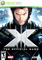 X-Men The Official Game (Microsoft Xbox 360, 2006) COMPLETE MARVEL FAST SHIPPING