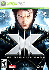 X-Men: The Official Game (Microsoft Xbox 360, 2006)  DISC ONLY    FAST SHIPPING