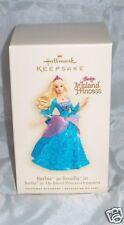 HALLMARK Barbie as Rosella-Island Princess-2007~NEW