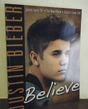 "JUSTIN BIEBER - ""BELIEVE""  About 100 full color Photos! Brand New"
