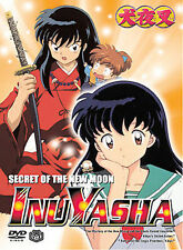 InuYasha Vol. 5: Secret of the New Moon BRAND NEW FACTORY SEALED DVD (2003,VIZ)