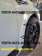 White - Coloured Custom Fender Flare Seal with Double Sided Tape