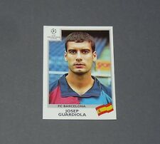 44 PEP GUARDIOLA FC BARCELONA PANINI FOOTBALL CHAMPIONS LEAGUE 1999-2000