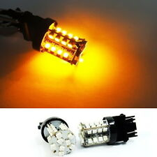A Pair of Amber 40 SMD LED 3157 3156 3457 for FORD Front Turn Signal Light Bulb