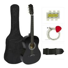 6-String Beginners Acoustic Guitar, Classic/Traditional Style with Accessory Kit