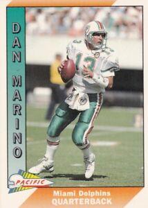 Dan Marino Miami Dolphins Pacific # 269 1991 Football Card  HOF