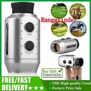 850m 7X18 Digital Range Finder Hunting Golf Rangefinder Green General Model HOT