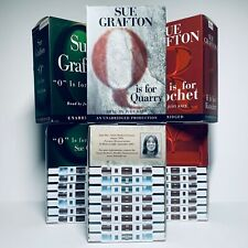 Sue Grafton R is for Ricochet O is for Outlaw Q is Quarry Audio Book Cassette
