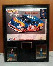 Kyle Petty Hot Wheels 44 Mattel NASCAR Collector's Plaque w/ Cards