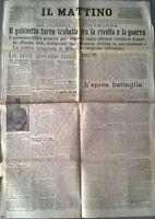 WW1-IL GABINETTO TURCO TRABALLA TRA LA RIVOLTA E LA GUERRA 501
