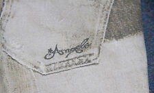 GIRLS ROBERTO CAVALLI ANGELS WHITE GREY JEANS AGE 6 RARE d&g replay moschino