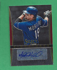 2013 Select Signatures Auto MITCH MORELAND  Texas Rangers Autograph