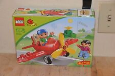 LEGO DUPLO:.5592 AEROPLANE WITH FIGURES New but box was opened to check pieces