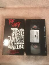 ( 1963 ) The GHOST VHS Vintage AEC Release Barbara Steele Gothic Italy Horror