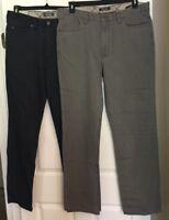 Kenneth Cole Reaction men's twill jeans Item:KCH9633 asst sizes colors NWT