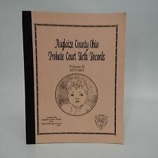 Auglaize County, Ohio Probate Court Birth Records, 1877-1887-Genealogy-1994