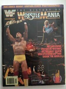 WWF Magazine 1992 The History of WrestleMania Hulk Hogan Macho Man Mr Perfect