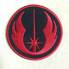 NEW JEDI ORDER STARWARS STAR WARS EMBROIDERY IRON ON PATCH BADGE #BLACK RED