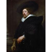 Rubens Self Portrait Extra Large Wall Art Print Premium Canvas Mural
