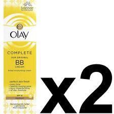 2 Olay BB Cream Medium Moisturiser SPF15 Max Factor Essentials CompleteCare 50ml