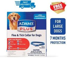 Adams Plus Flea & Tick Collar for Dogs, Large 7 Mounth Protection FREE SHIPPING