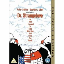 DR STRANGELOVE DVD NEW 60S COMEDY FILM MOVIE PETER SELLERS GEORGE C SCOTT