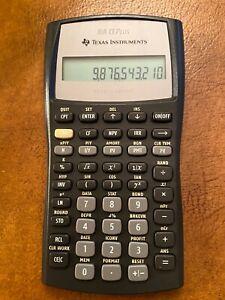 Texas Instruments BA II Plus Business Analyst Calculator