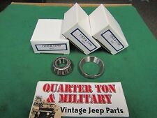 Jeep Willys MB CJ2A M38 M38A1 steering King Pin Bearing kit Very high quality