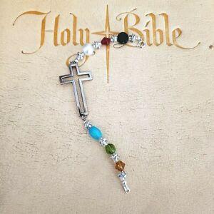 Salvation Cross Charm Bracelet