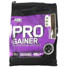 Optimum PRO GAINER Lean Muscle Mass Weight Gainer Protein 10 lb CHOCOLATE