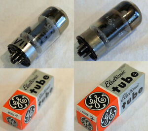 GE 6550A tubes X 2. Tested with good result. Original boxes.