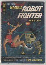 Magnus Robot Fighter 4000 A.D. #17 Gold Key 1967