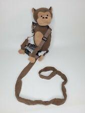 Toddler Child Safety Harness Leash Plush Reins Monkey Back Pack Gold Bug