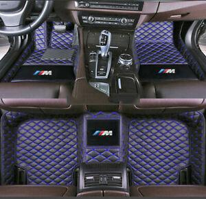 Fit BMW 1 2 3 4 5 6 7 8 Series X1 X2 X3 X4 X5 X6 X7 M1 M3 M4 M5 M8 Car Floor Mat