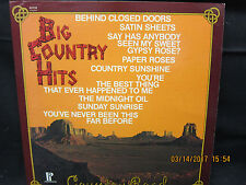 Country Road Big Country Hits - Pickwick Records