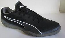 Puma Invicto Fresh Black Indoor Soccer Men Shoes 10.5