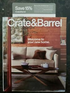 2 Crate & Barrel 15% off Coupons + Each Can be used 4x! -Save Now Later 12/31/20