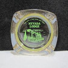 Vintage NEVADA LODGE NORTH END LAKE TAHOE Casino Ashtray