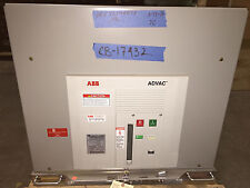 ABB Advac 2000 Amp Circuit Breaker, 4160 V, 2013, EO/DO, 125VDC CLOSE & TRIP