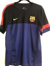 Barcelona Nike Training Soccer Jersey Large