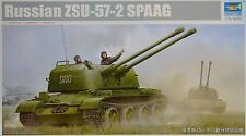 TRUMPETER® 05559 Russian ZSU-57-2 SPAAG in 1:35