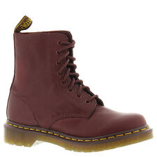 Dr. Martens Pascal Cherry Red Womens Combat Boot Size 8m