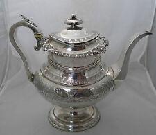 Georgian Silver Coffee Pot John Robertson II Newcastle 1819 1004g