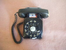 VINTAGE WESTERN ELECTRIC TYPE 500 TELEPHONES--TWO---BLACK